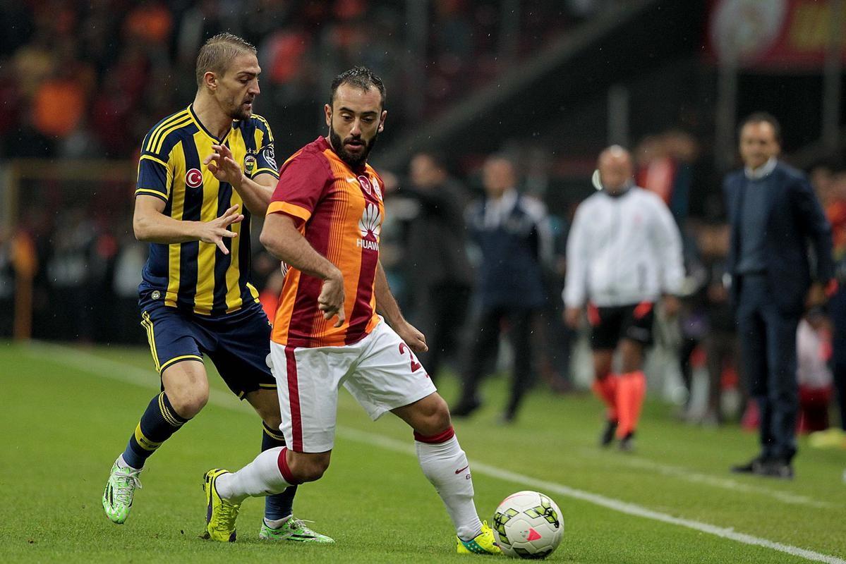 Caner Erkin, Olcan Adın - Galatasaray-Fenerbahçe