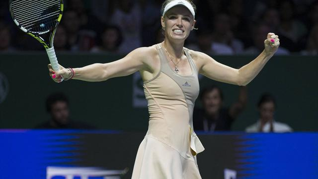 Retour sans faute pour Wozniacki
