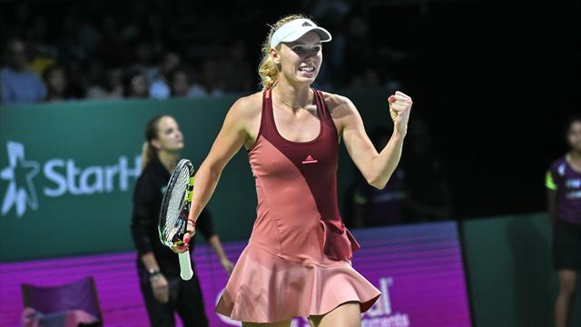 En pleine forme, Wozniacki encha�ne contre Radwanska