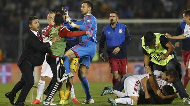 Serbia-Albania 0-3 a tavolino: il Tas ribalta il verdetto