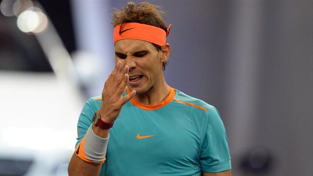 Tennis : Pour la quatri�me fois en cinq ans, Bercy se jouera sans Nadal