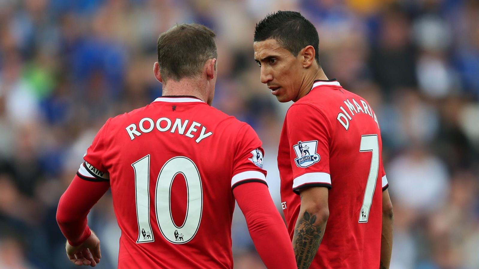 Angel Di Maria: Playing with Wayne Rooney just like playing with Messi - Premier League 2012 ...