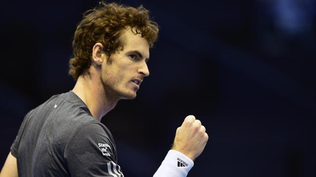 Tennis : Murray se rapproche du Masters apr�s sa victoire face � Ferrer