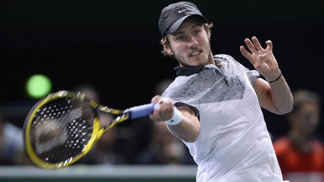 Pouille n'a vraiment pas � rougir, mais il �tait un peu tendre pour Federer