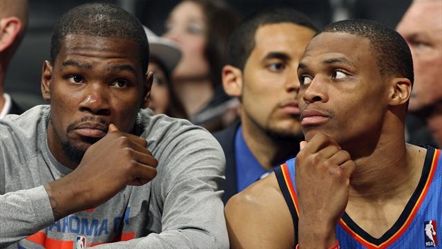 Apr�s Durant, OKC perd Westbrook