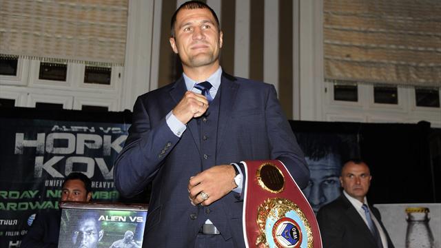 Ковалев признан боксером года по версии WBO