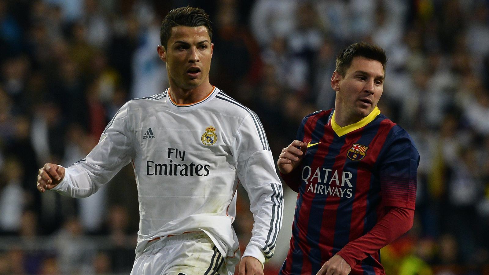 Cristiano Ronaldo et Leo Messi.