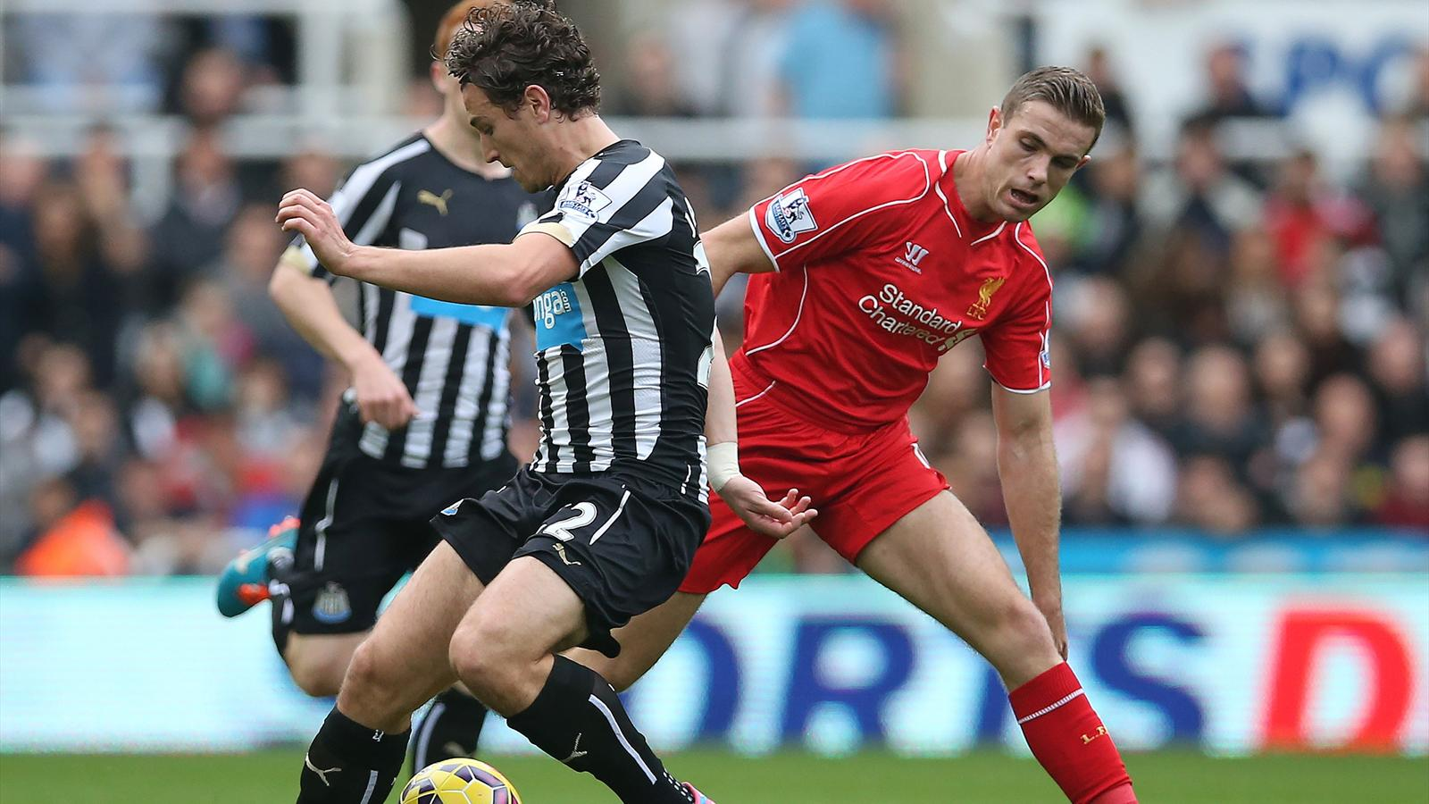 Newcastle 1-0 Liverpool : Liverpool chute à Newcastle