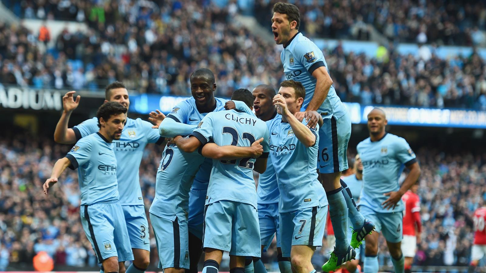 Premier league - 10e journée : le derby de manchester est pour city