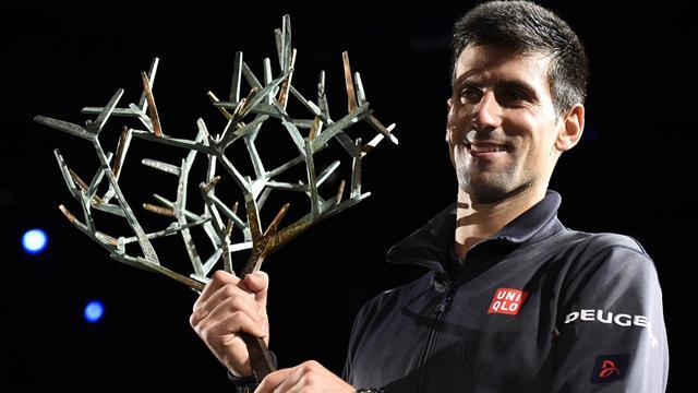 600e victoire, 20e Masters 1000, record de titres à Bercy... Djokovic a affolé les compteurs