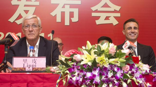 Cannavaro prend la place de Lippi et devient entraîneur de Guangzhou