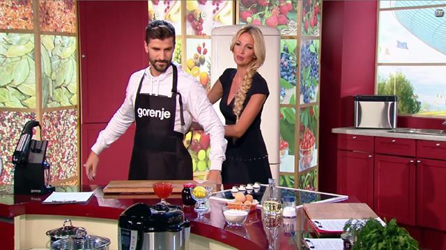 Лопырева запускает кулинарное шоу на «Нашем Футболе»