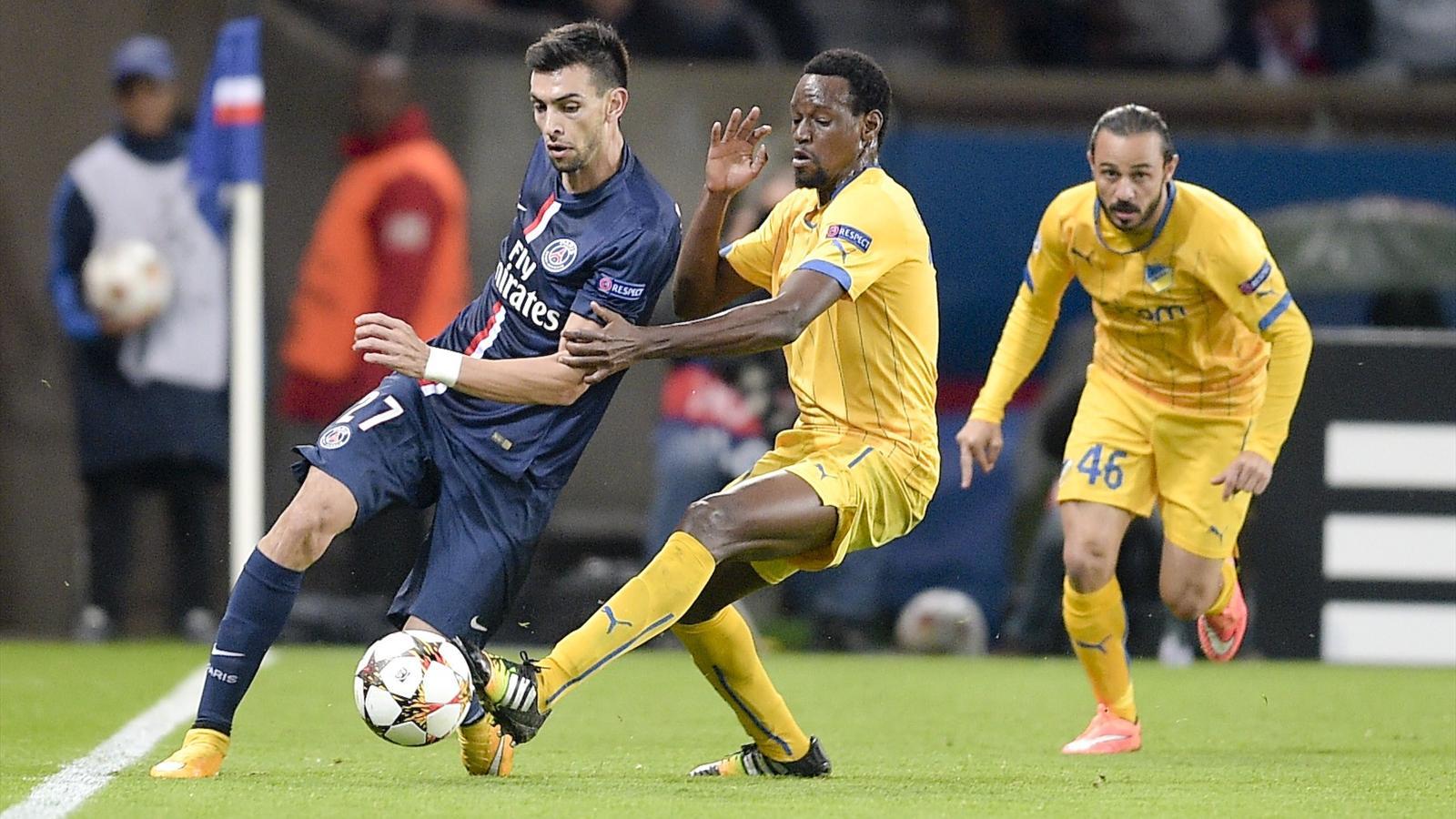 Javier Pastore a signé une belle prestation avec le PSG face à l'APOEL Nicosie.