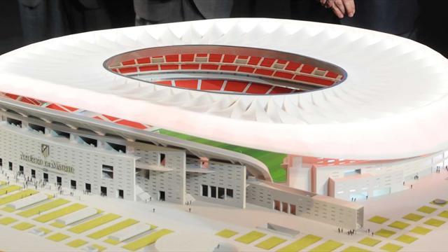 Pour l'Atlético, un nouveau stade nommé Wanda