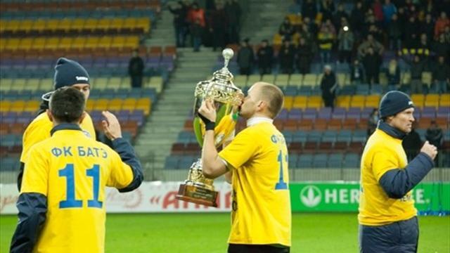 БАТЭ стал 11-кратным чемпионом Белоруссии