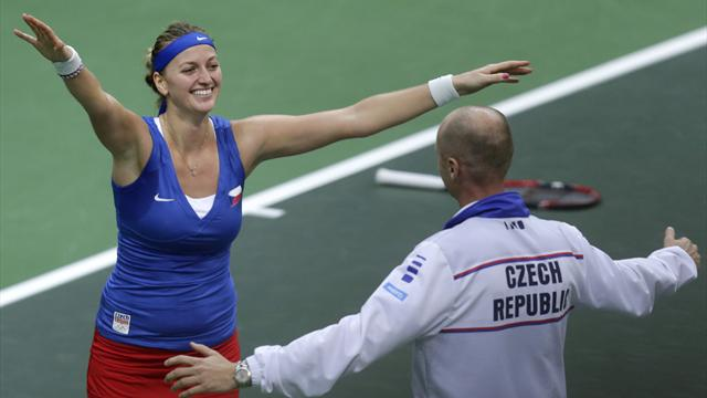 Kvitova seals title for Czech Republic