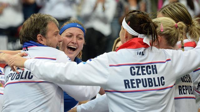 Tennis : Kvitova offre à la République tchèque sa troisième victoire en quatre ans