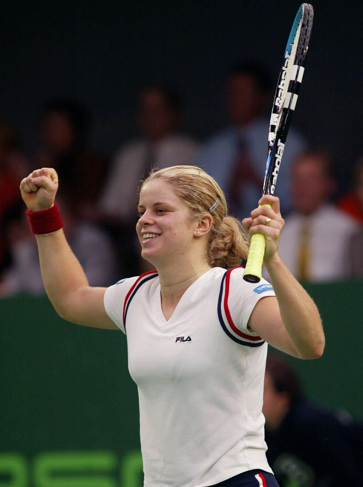 Kim Clijsters, 2003