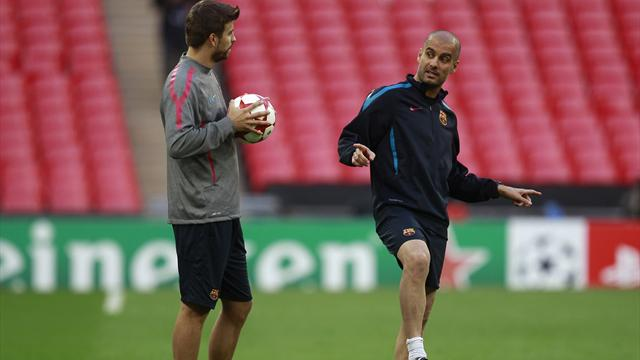 Pique: Pep Guardiola taught us a new kind of football