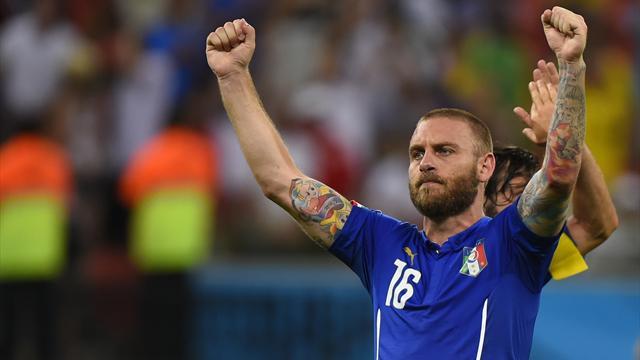 Avec De Rossi et 7 nouveaux, l'Italie part pour un premier stage avec 28 joueurs