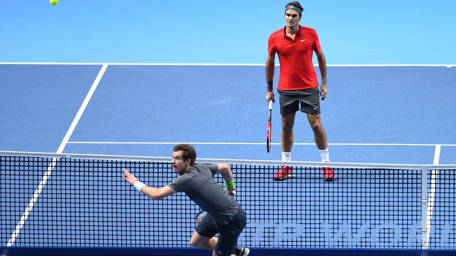 Roger Federer inflige une incroyable raclée à Andy Murray