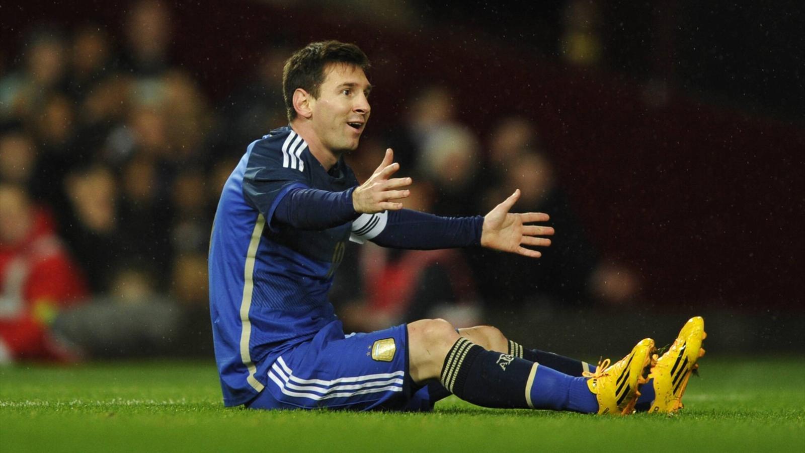 Лионель месси в матче аргентина