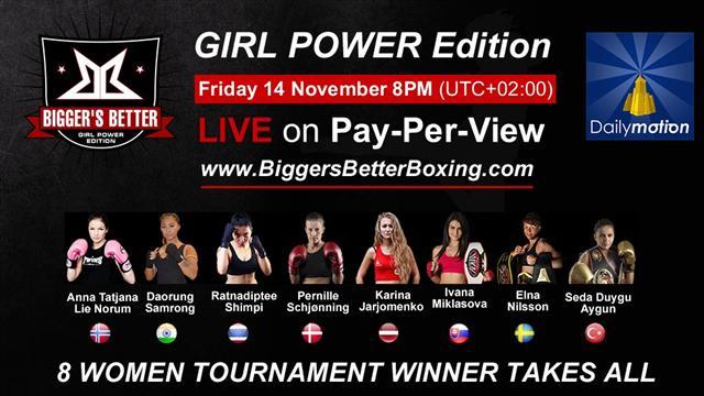 Kadın kick-boksçular ringe çıkıyor