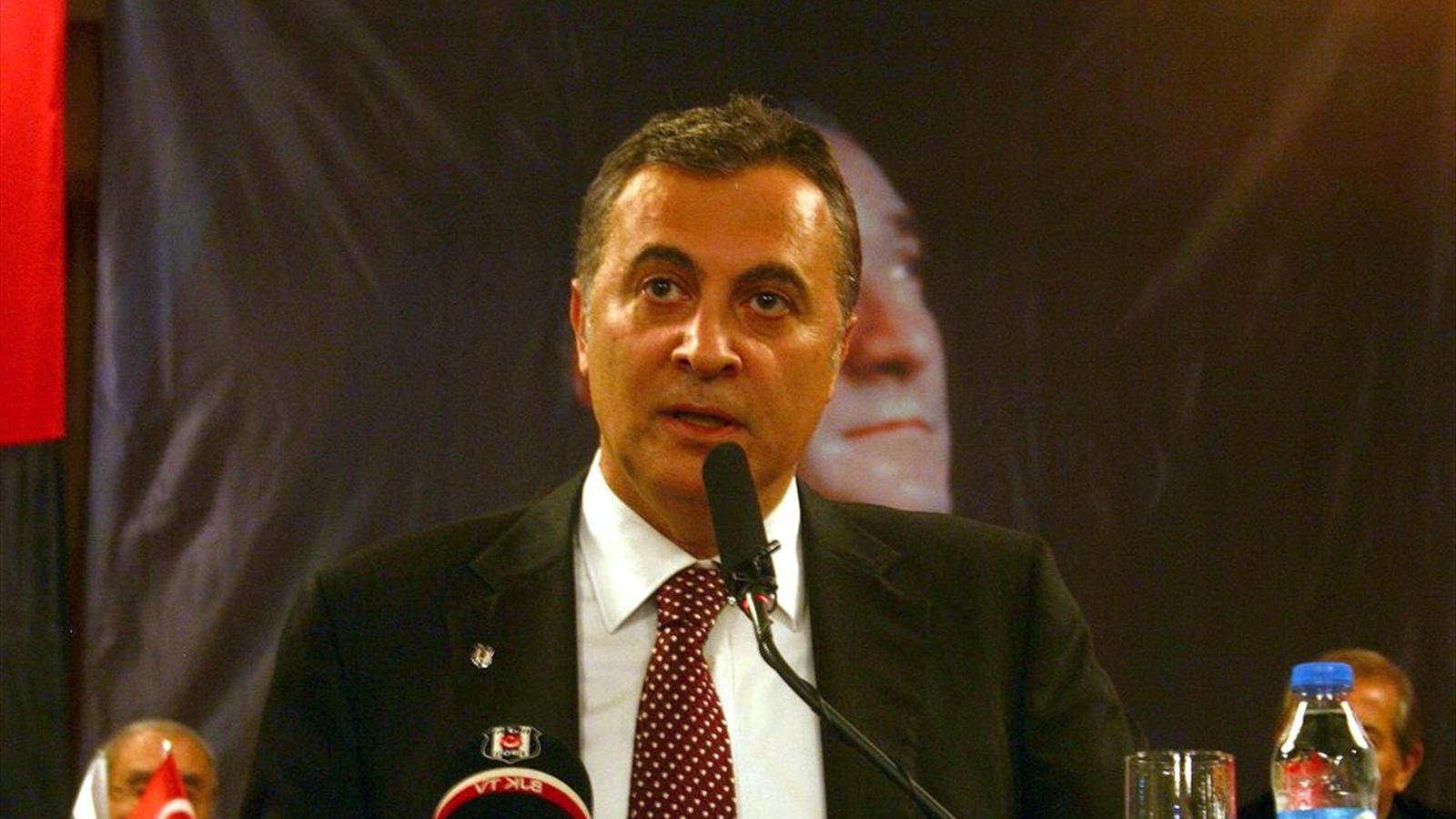 Beşiktaş Başkanı Fikret Orman Londra'da