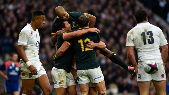 Springboks switch on to foil England fightback