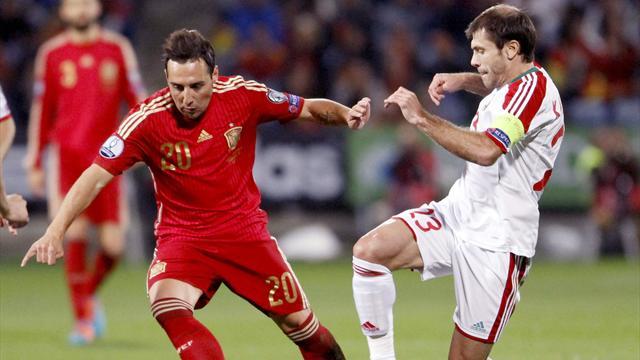 🇪🇸⚽ Santi Cazorla vuelve con España cuatro años después