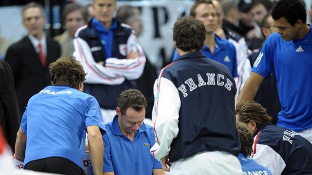 2010, la Serbie de Djokovic brise les r�ves tricolores