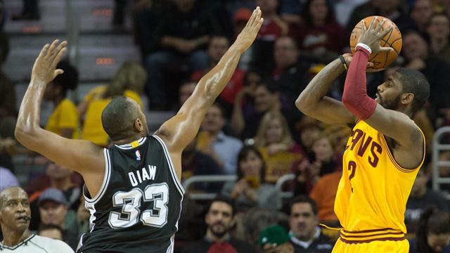 Diaw sort le grand jeu face aux Cavs de LeBron James : ce qu'il faut retenir de la nuit de mercredi