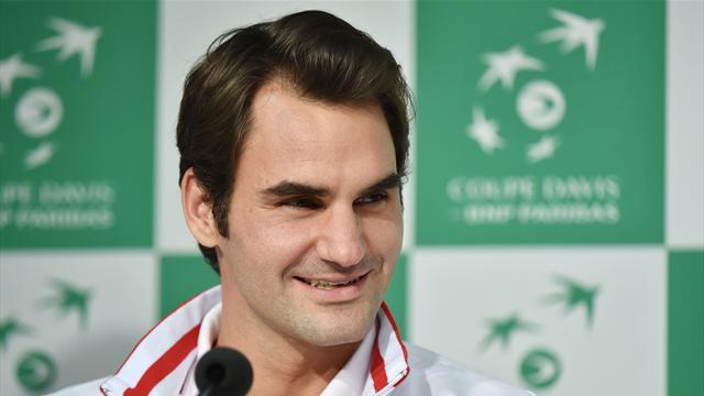 Quand Federer joue la carte de l'humour en conf' de presse