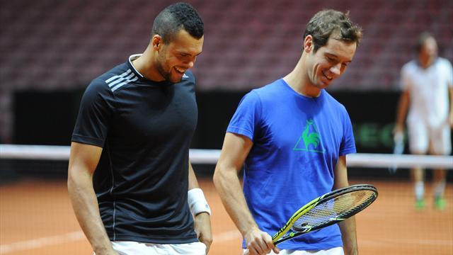 Tsonga-Gasquet, �a se confirme' Federer-Wawrinka aussi !