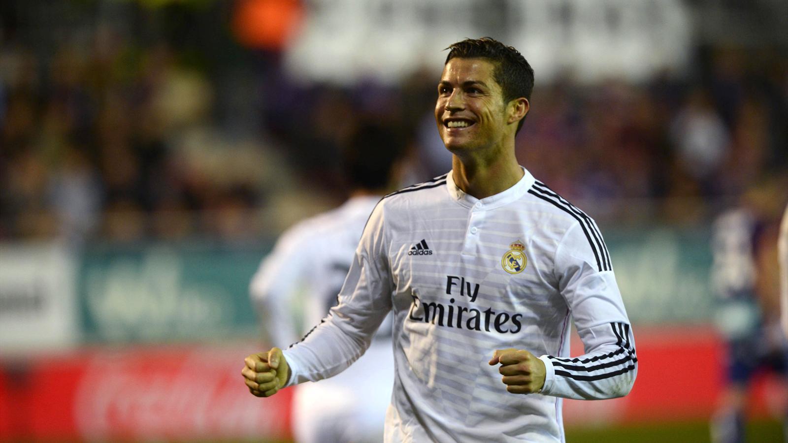 Cristiano Ronaldo leads Real Madrid to victory over Eibar - Liga 2014-2015 - Football ...