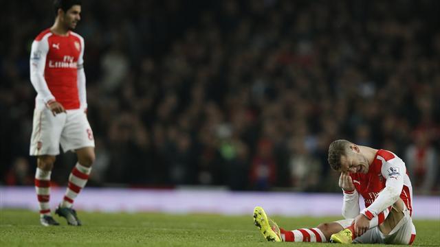 Arsenal craint une absence de trois mois pour Wilshere