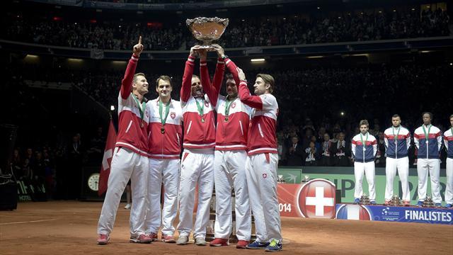 Le rêve bleu est passé, celui de Federer devient réalité
