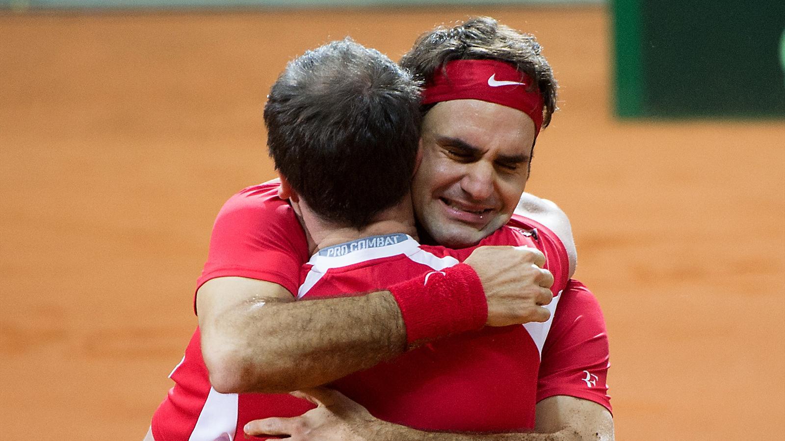 """Coupe Davis - Federer : """"Mardi, je pensais n'avoir aucune chance de jouer trois jours de suite…"""""""