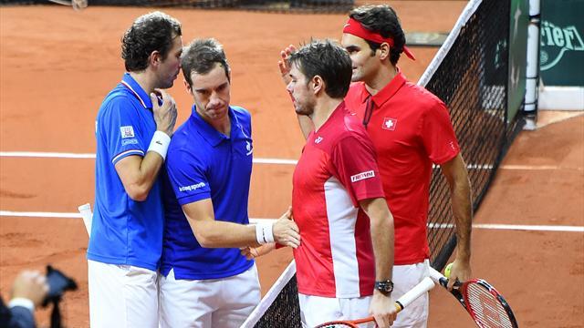 Tennis : Entre les Bleus et Wawrinka, l'explication finale a tourn� � l'altercation
