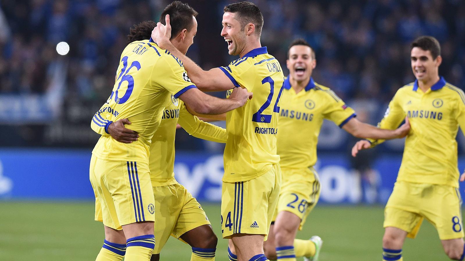 Chelsea puvlérise Schalke 04 en Allemagne (0-5) et se qualifie