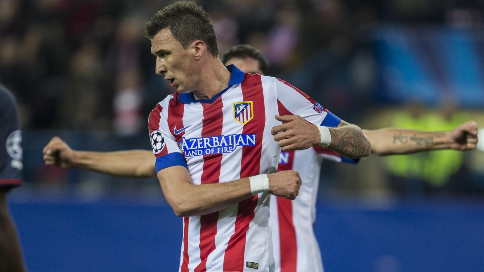 Atlético 4-0 Olympiakos : Avec Mandzukic, l'Atlético ne s'est pas trompé de pointure