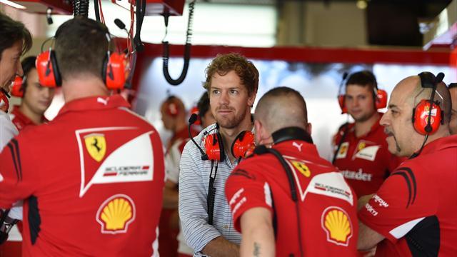 Vettel : 'Il faut �tre lucide, on ne va pas battre Mercedes en une ann�e'