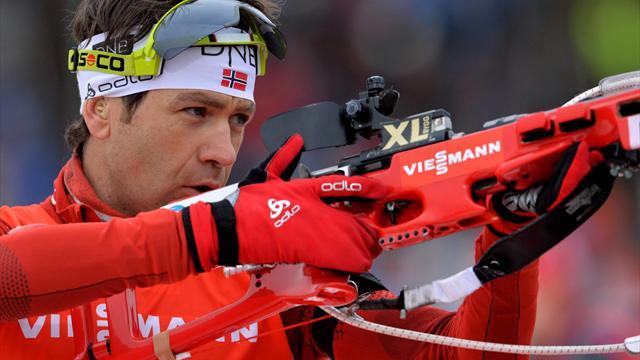 Bjoerndalen logra a los 41 años su 95ª victoria en la Copa del Mundo