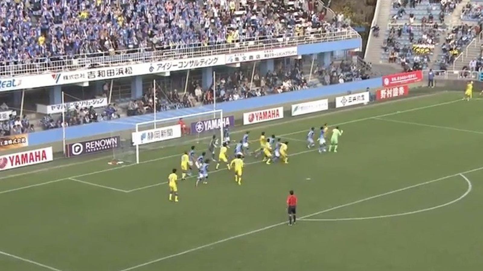 Japon kaleciden son saniye galibiyet golü