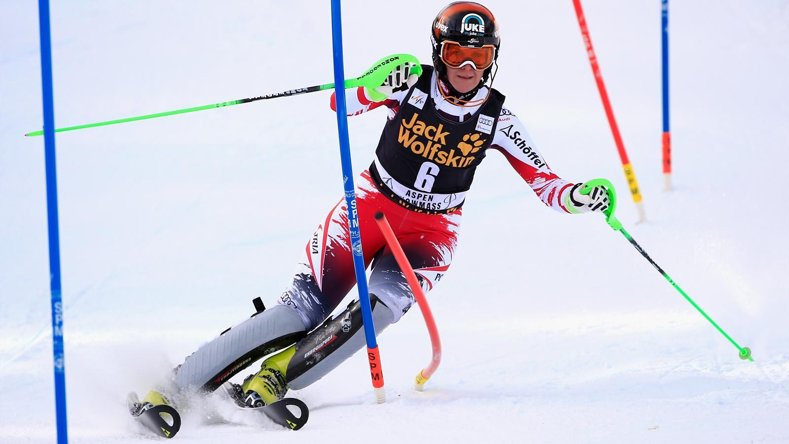 Coupe du monde nicole hosp remporte le slalom dames d - Coupe du monde ski alpin 2015 calendrier ...