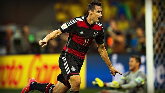Meilleur buteur de l'histoire de la Coupe du monde, Klose met fin à sa carrière