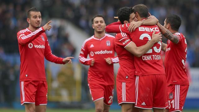 Sarıyer-Beşiktaş: 0-4 | MAÇ ÖZETİ