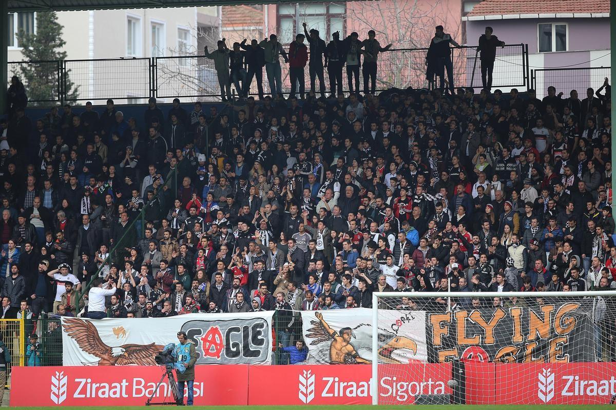 Sarıyer Beşiktaş taraftarı
