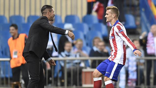 Simeone : «Griezmann est destiné à figurer parmi les Messi, les Ronaldo, les meilleurs du monde»