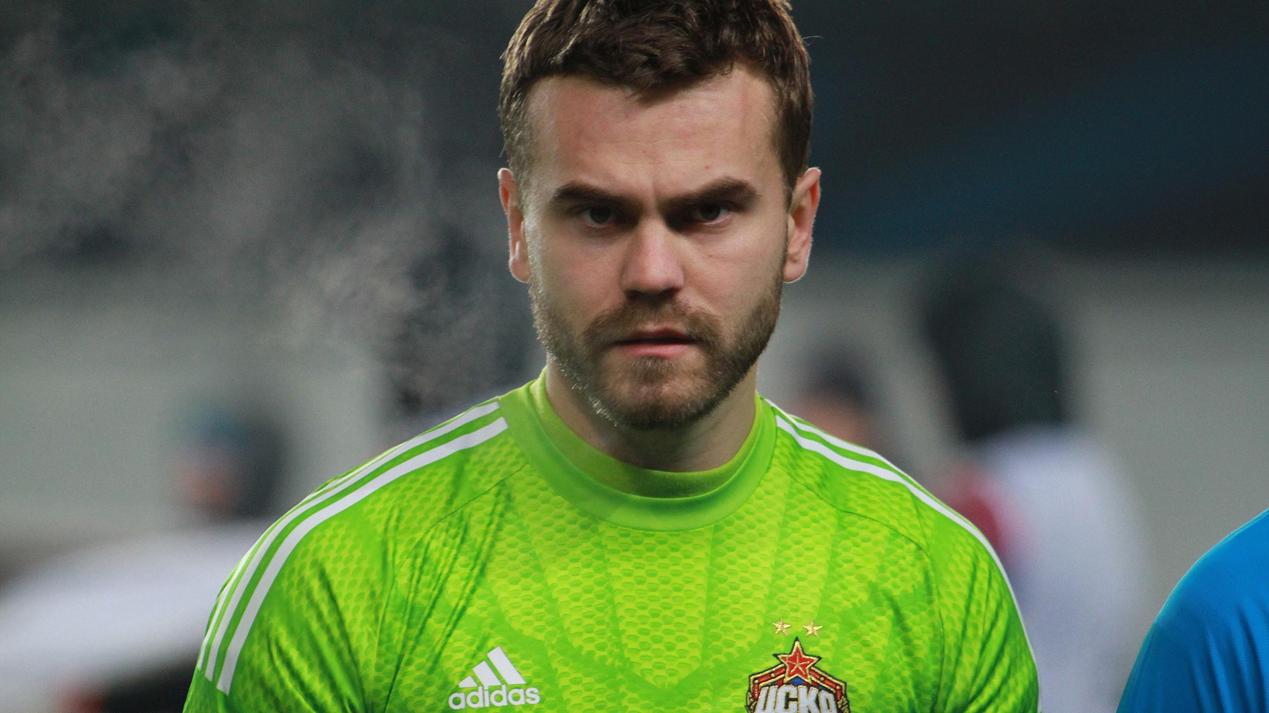Igor Akinfeev, CSKA